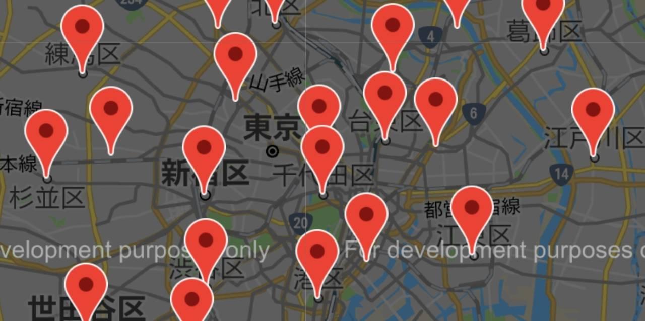 """破産者マップ Image: 【話題】『Google』で誰でも閲覧可能の""""破産者マップ""""に賛否"""