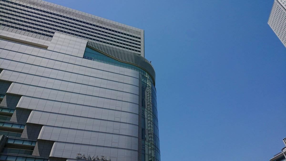 【閲覧注意】JR大阪駅、大丸梅田店で飛び降り